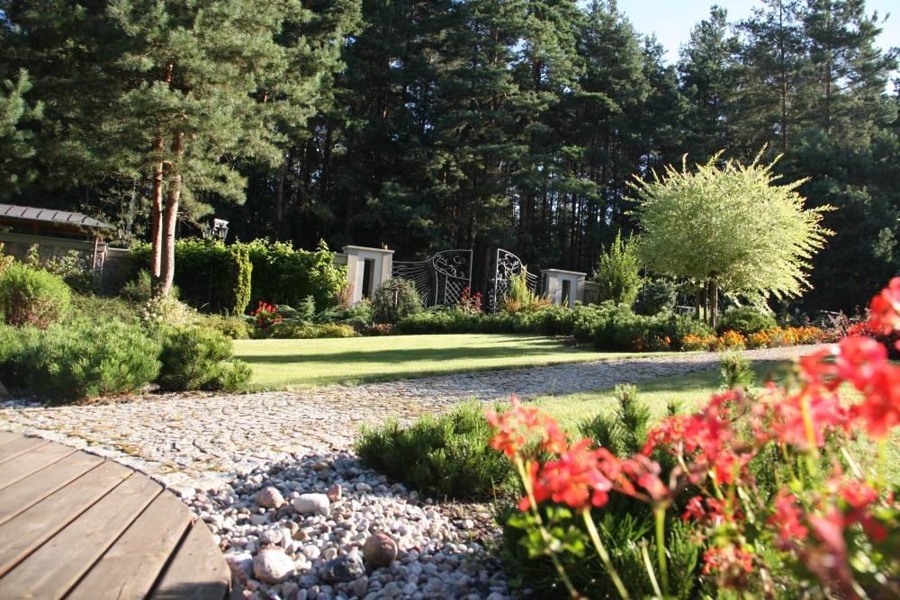 Ogród w okolicach Olsztyna