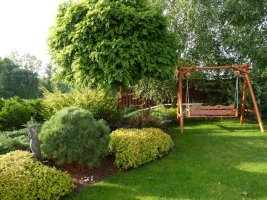 Domek weekendowy (Ogród prezentowany w programie TVN Maja w ogrodzie)